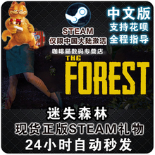 PC Steam 中文正版 迷失森林 The Forest  恐怖森林动作 国区礼物