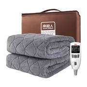 Antarctic electric blanket thickening plush 200*180 double dual control four-speed thermostat home safety electric tweezers