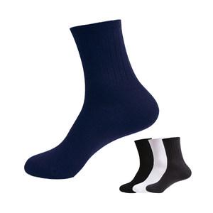 梦娜原字弹男袜3双袜春夏袜子棉袜防臭吸汗纯棉男袜