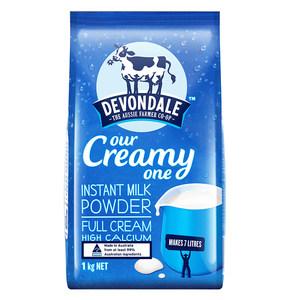 澳洲进口德运奶粉青少年成人冲饮全脂奶粉调制乳粉1kg