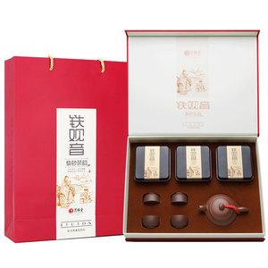 艺福堂2017年新茶特级铁观音清香型茶叶礼盒装乌龙茶168g年货礼盒