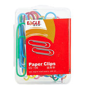 Benefit and high EG-9DS color paper clip office Office supplies 28mm100