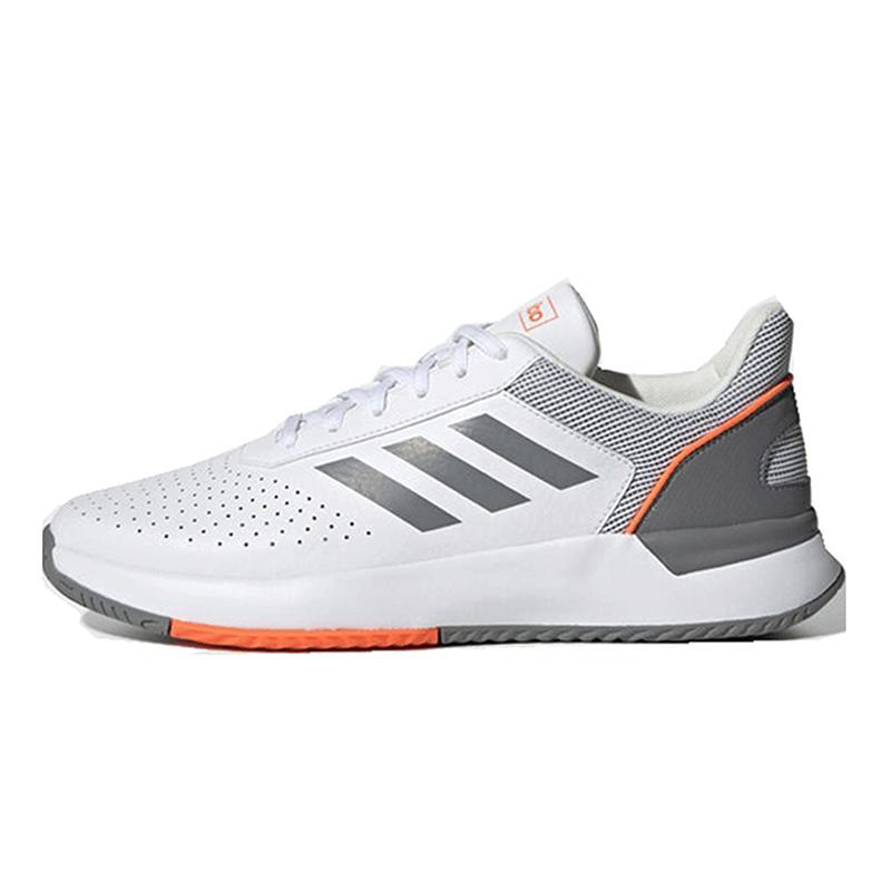 adidas阿迪达斯2019冬季新品男鞋网球鞋运动鞋轻便跑步鞋EE8000