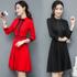 天天特价2017秋冬新款韩版女装气质显瘦长袖a字裙时尚打底连衣裙