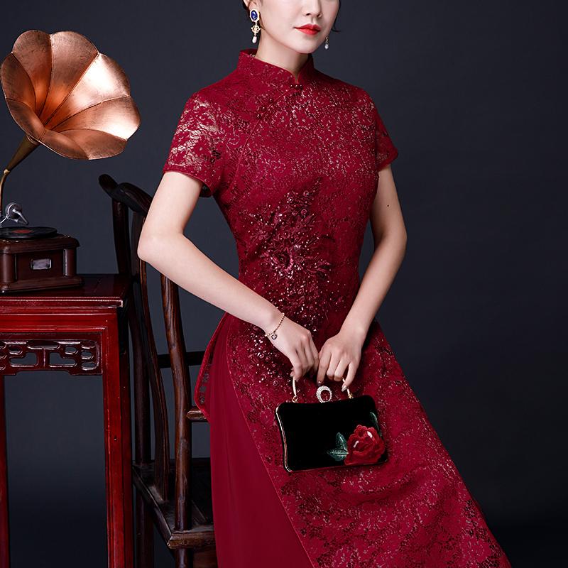 安婷妮菲AT0700旗袍