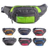 Sports outdoor multi-functional waterproof Fanny pack men and women large capacity to receive money cashier business canvas mobile phone and chest bag