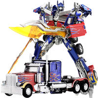 Black Mamba Deformation Children's Toy King Kong Movie Zoom Dinosaur Tank Wei Model Police Car Alloy Optimus OP Column