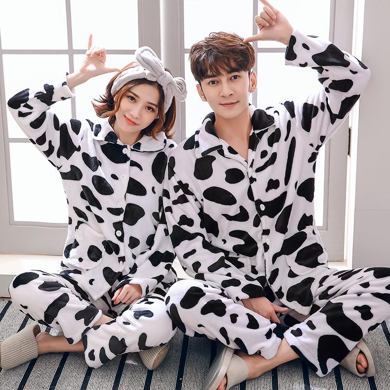 女士奶牛睡衣