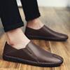 休闲手工皮鞋