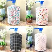 水套 饮水机罩口朝上布艺压水器水桶罩现代简约蕾丝矿泉水桶套桶装