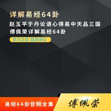 傅佩荣详解易经64卦 赵玉平于丹论语心得易中天品三国 视频全集