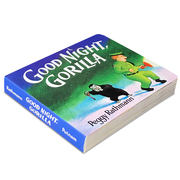 English original Good Night Gorilla Goodnight Gorilla Cardboard Book Wu Minlan Picture Book 123 95th Enlightenment story goodnight moon with series of 100 reading unpleasant bedtime story