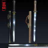 longquan GuJianXuan the pattern steel sword) brief paragraph tang sword sword of cold not town house edge sword