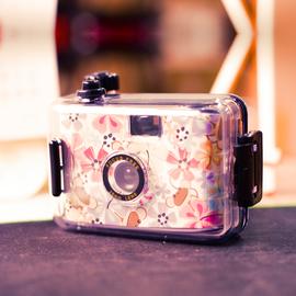 新佰 胶片相机复古胶片相机135多次性ins胶卷傻瓜照相机防水送同学闺蜜朋友生日礼品可爱拍立得图片