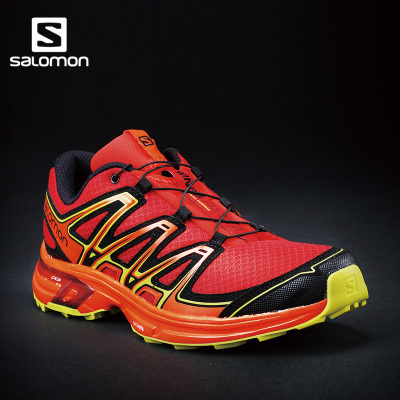 Salomon 萨洛蒙男款户外越野跑鞋 耐磨防滑透气 WINGS FLYTE 2