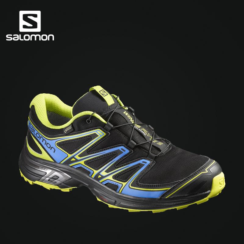 Salomon 萨洛蒙男款户外防水透气越野跑鞋 WINGS FLYTE 2 GTX