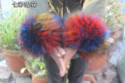 Faux Fox Fur Cuff Scorpion Bracelet Rabbit Hair Bracelet Warm Wristband Fur Sleeve Fur Handle Bracelet Wrist