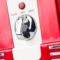 美式三层专用巧克力喷泉机商用瀑布机器果汁机家用全金属红色