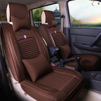 皮革全包围七7座汽车座套五菱之光荣光宏光S长安之星2代专用坐垫