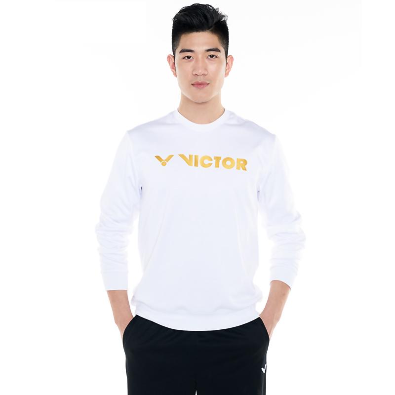 威克多Victor T-85105胜利羽毛球服 男女款针织圆领卫衣