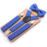 Children's Bow Tie Boys Bows England Accessories Baby Strap Candy Color Pants Clips Korean Black New Products