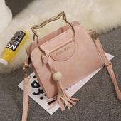 女士小包包2018新款韩版手提流苏包单肩女包斜挎包时尚简约百搭潮