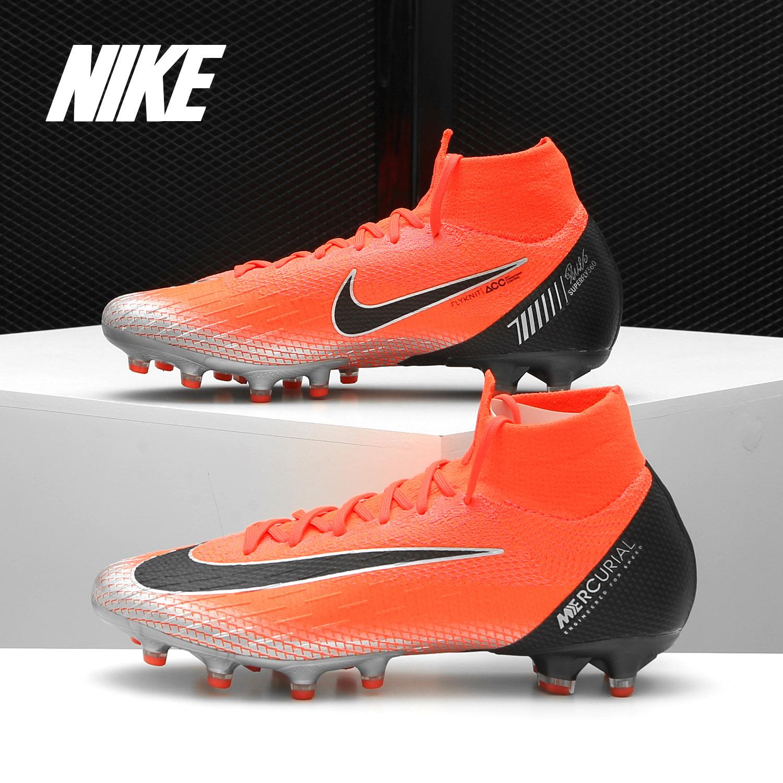 Nike/耐克正品 SUPERFLY 6 C罗 CR7AG-PRO 短钉人草足球鞋 AJ3546