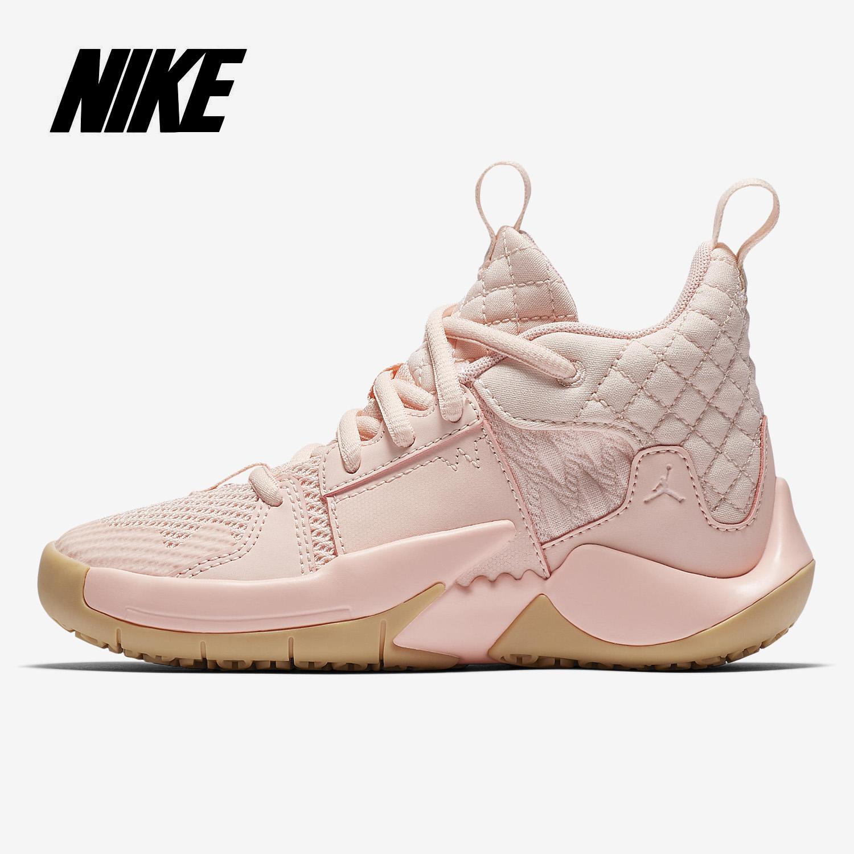 Nike/耐克正品 男女童 JORDAN WHY NOT ZER0.2 高帮篮球鞋 AT5719