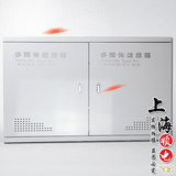 Extra large thick multimedia information box fiber optic box weak electric wiring box 400*600 double door villa type