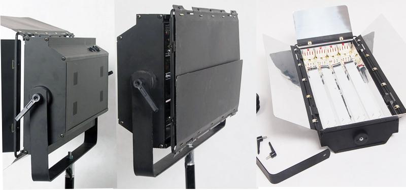三基色柔光灯两套装箱包 移动灯箱 三基色四排灯六排灯拉杆箱包