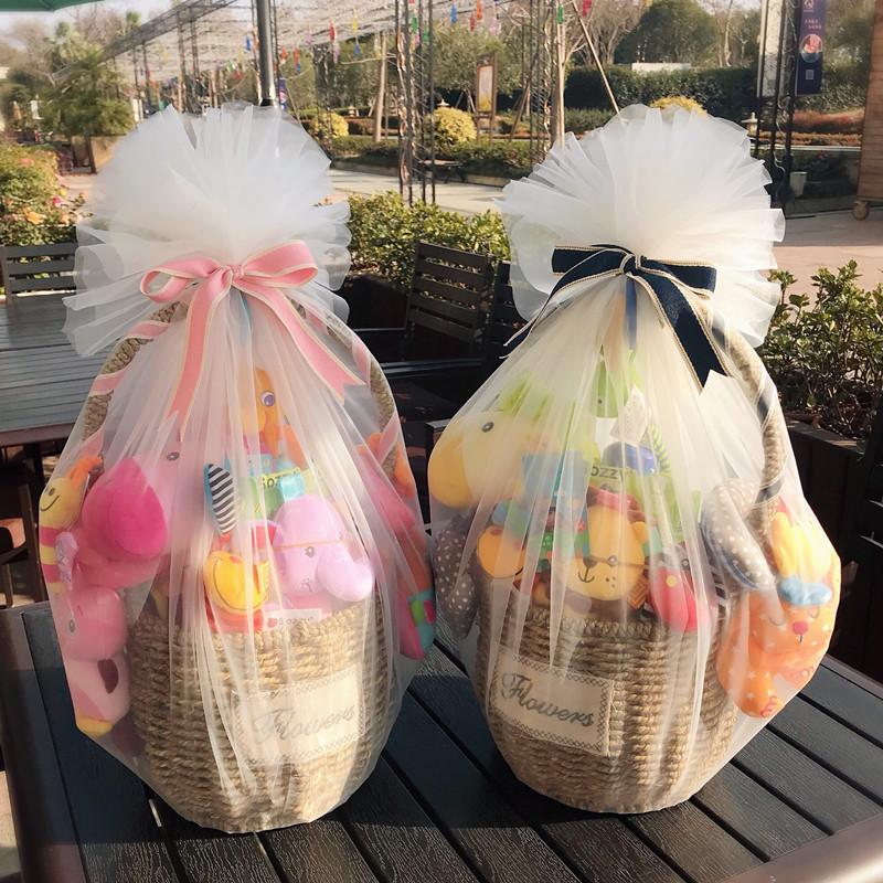 新生婴儿玩具礼盒套装送礼高档男女宝宝满月礼物百日礼包母婴用品