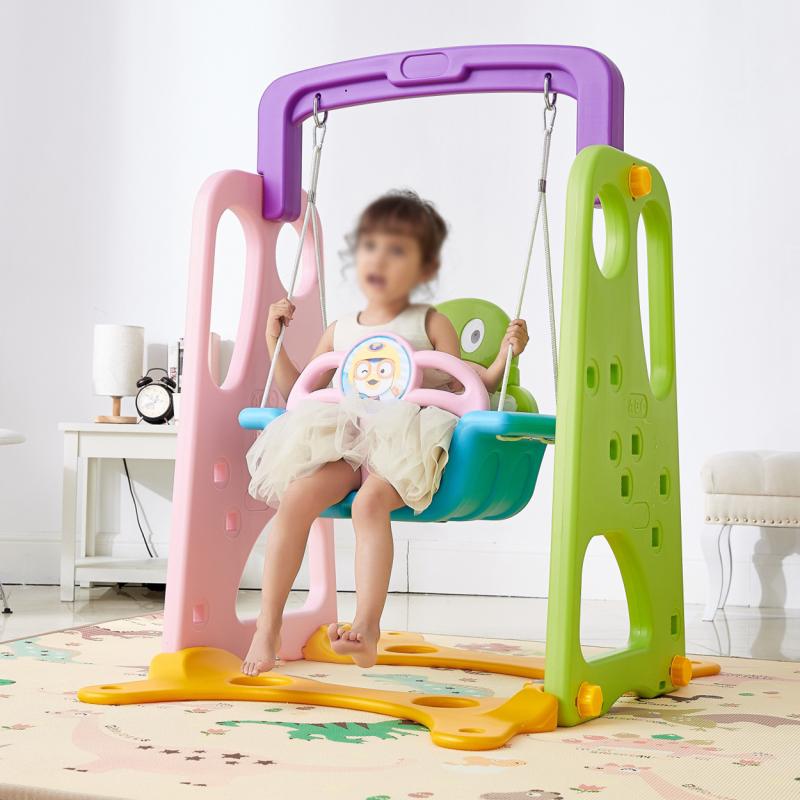 单个外儿童秋千坐当秋千配件组合摇蓝床摇摇便携健身架休闲3-6岁