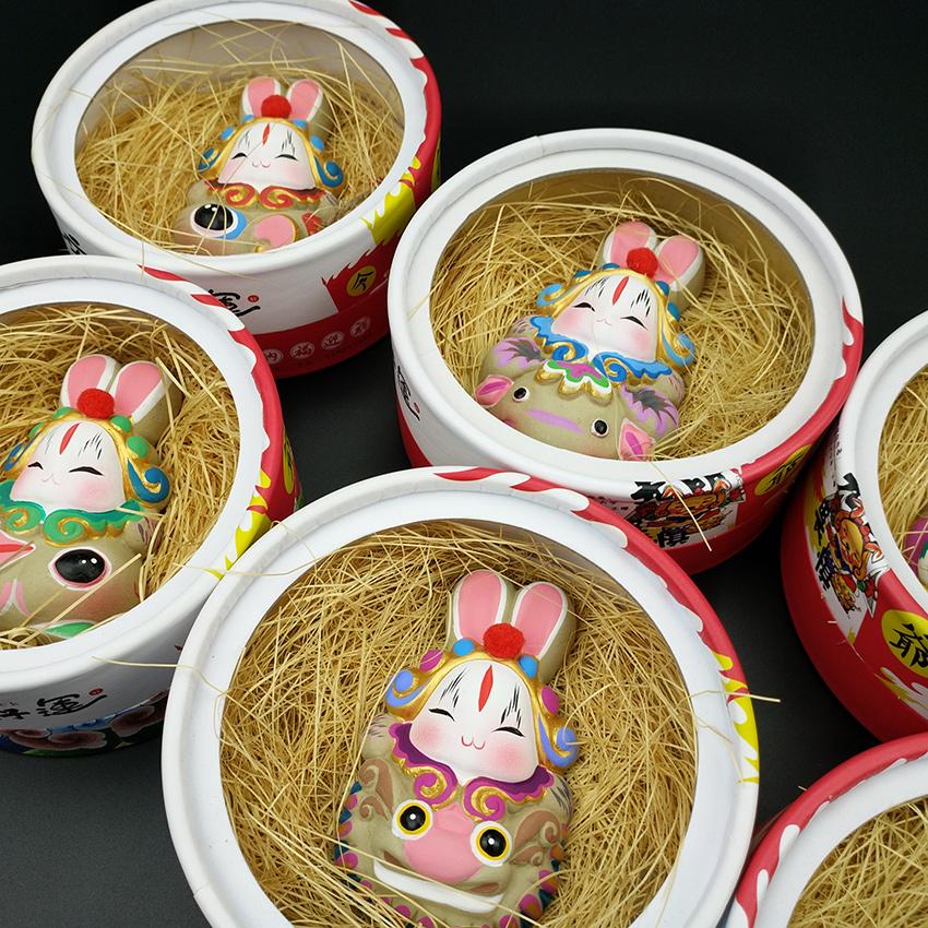 兔爷 好运生肖 北京礼品 出国礼品 泥塑生肖 兔儿爷