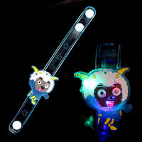 Children's birthday party supplies luminous cartoon bracelets flash watch band Christmas gift decoration