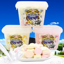3 tranches de lait de colostrum boîte Hong Kong Fu Qiao lait besch fruits lait saveur Nutrition sèche comprimés 180g en boîte