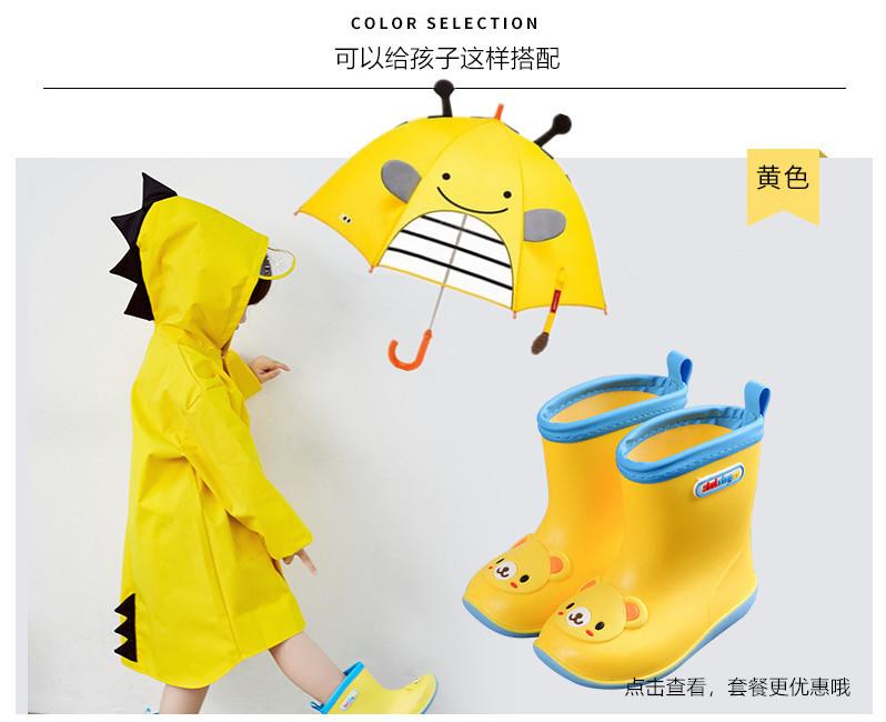 韩版恐龙儿童雨衣男童女童轻薄透气雨披幼儿宝宝中大小童抖音爆款