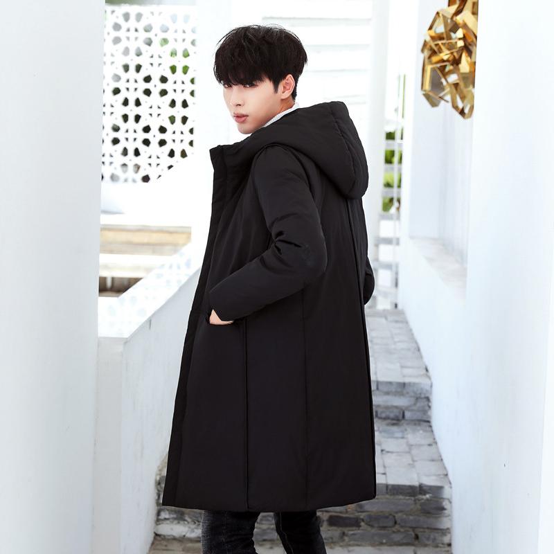 韩版棉大衣男