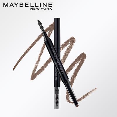 美宝莲轻松画顺滑眉笔易上色均匀晕染妆效自然咖啡棕眼线笔
