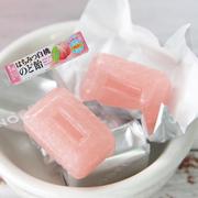 日本进口乐倍尔浓厚白桃味水蜜桃味条装糖果硬糖10粒入粉色少女心