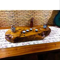 茶盘实木整块原木树根家用大号新款功夫茶具托盘创意茶海茶台包邮