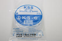 Authentic Taiwan Kass KSS roll-type end with winding tube winder KS-6 wide 6.7mm white