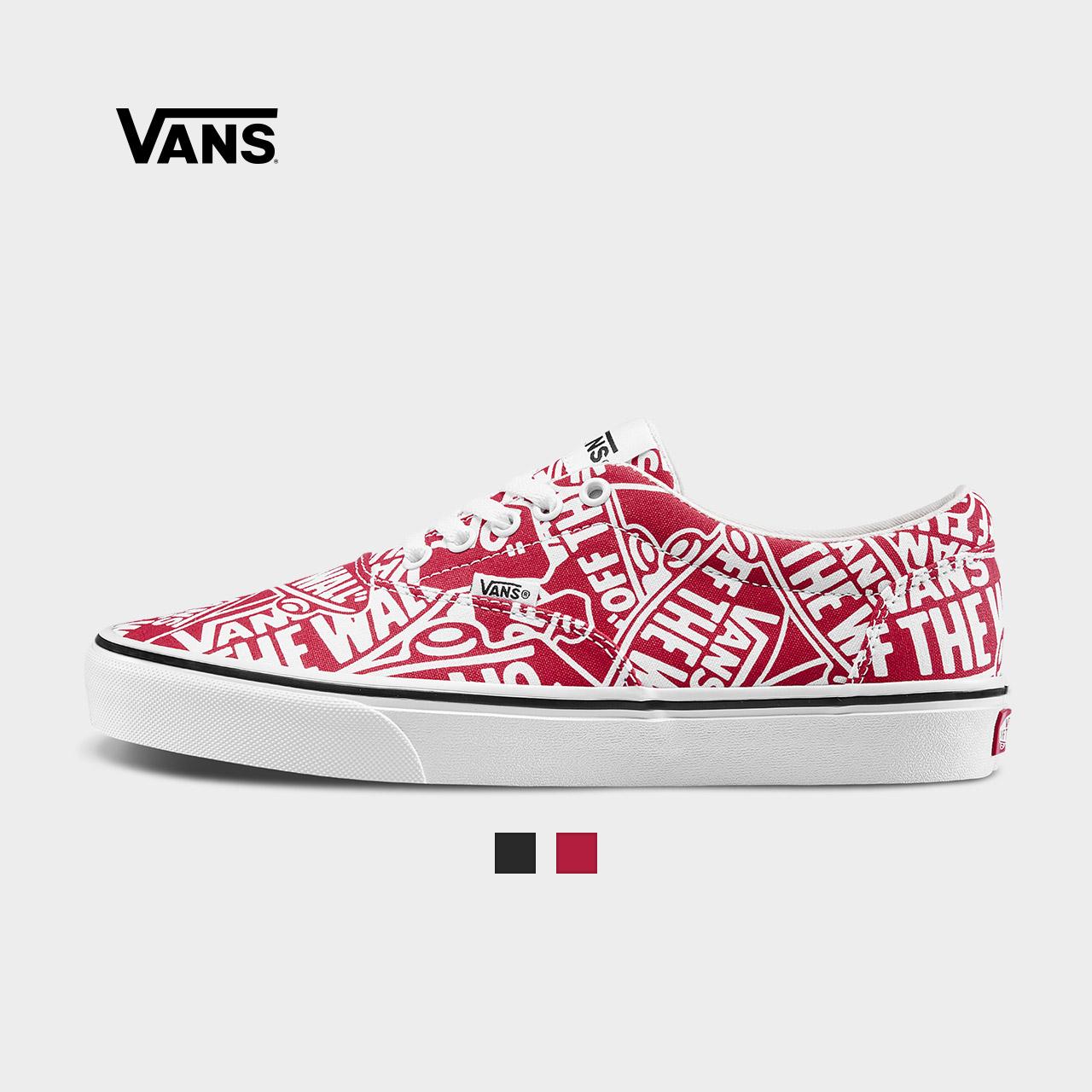 Vans范斯 运动休闲系列 帆布鞋 低帮男子新款官方正品