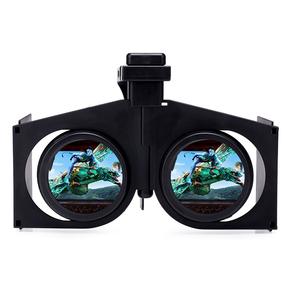 迷你便携折叠手机虚拟现实头盔设备全景电影院智能3D眼镜VRbox
