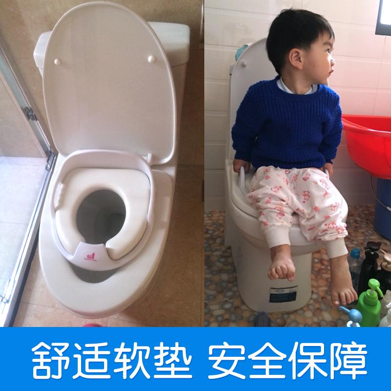 宝宝儿童马桶圈坐便器女幼婴儿加大号通用座便器垫盖男1-6岁坐垫