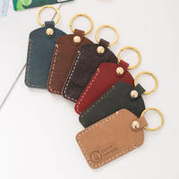 Handmade leather card sets leather bus card sets simple custom drip access card sets card cartoon mini card sets
