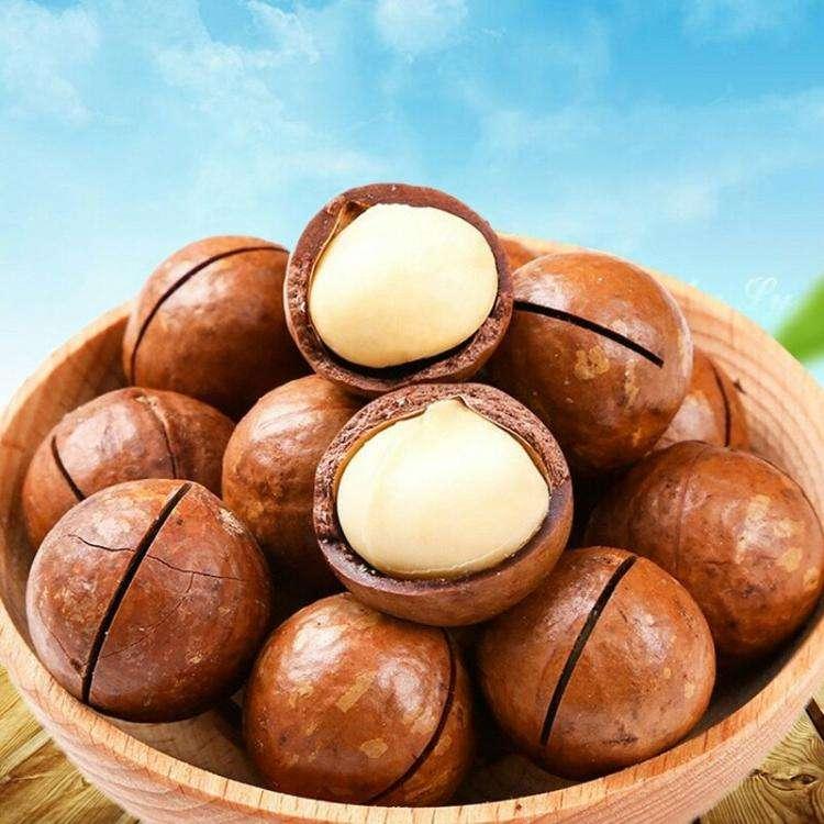 新货薄壳夏威夷果连罐装500克/250克奶油坚果零食仁 新鲜香脆