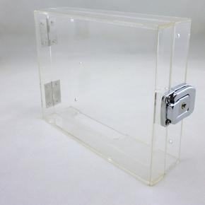 包邮中控考勤机保护盒打卡机保护罩刷卡考勤机外壳防护罩 通用型