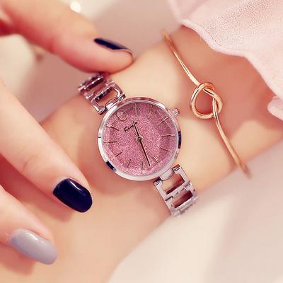 金米欧Kimio时尚潮流防水女士表满天星设计学生大气腕表石英手表