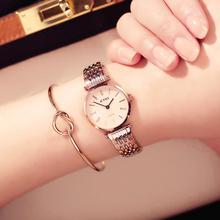 香港艾奇EYKI复古罗马刻度情侣男表女表学生腕表防水石英手表礼物