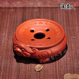 宜兴紫砂养壶托茶托 pot pad 貔貅 pot holder round pot base pot tray tea ceremony zero with special offer